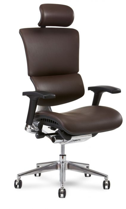 Nice X4 Leather Executive Chair | 21st Century Task Seating