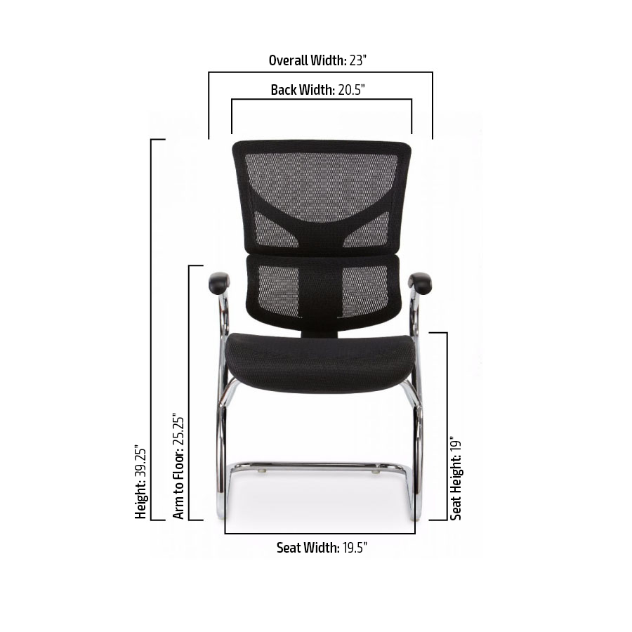 X-Side Chair Specs