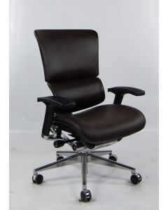 Three quarter view Black X4 Executive Chair